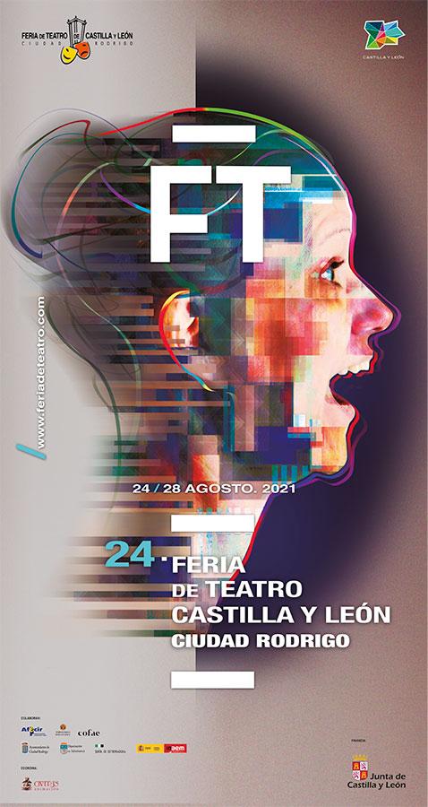Cartel 24 Feria de Teatro de Castilla y león